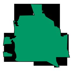 Area map of door repair service in Deerfield, IL