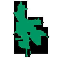 Area map of door repair service in Grayslake, IL
