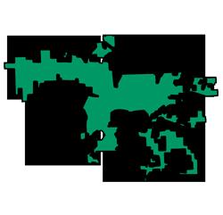 Area map of door repair service in Joliet, IL