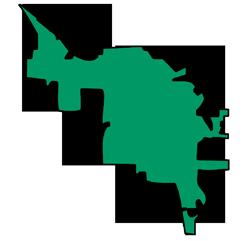 Area map of door repair service in Libertyville, IL