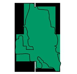 Area map of door repair service in Vernon Hills, IL