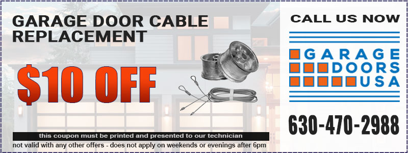 Garage Door Cable Repair Coupon