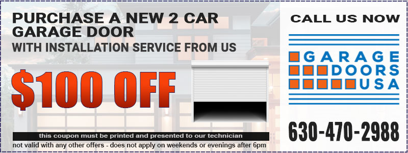Garage Door Installation Coupon