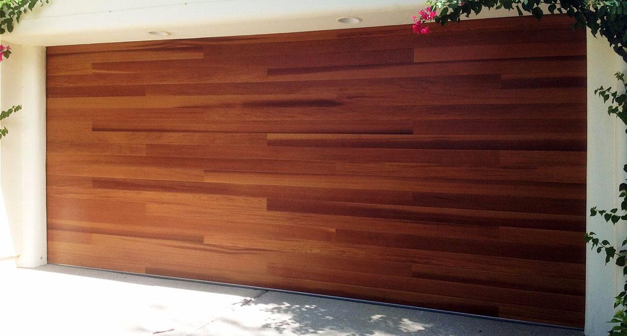 Plank Garage Door
